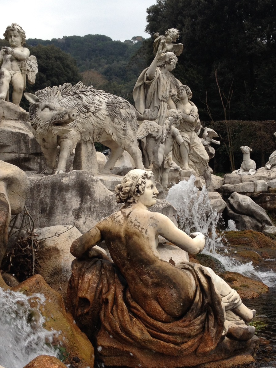 A Sunday Stroll along the Fountains of Caserta Palace